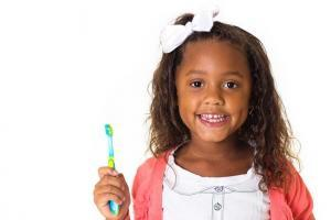 Brush teeth properly